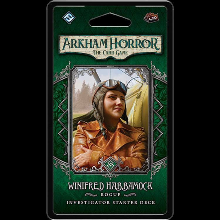 Fantasy Flight Games Arkham Horror LCG: Winifred Habbamock Investigator Starter Deck