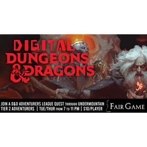 Fair Game Digital Dungeons and Dragons: Undermountain Adventurers League