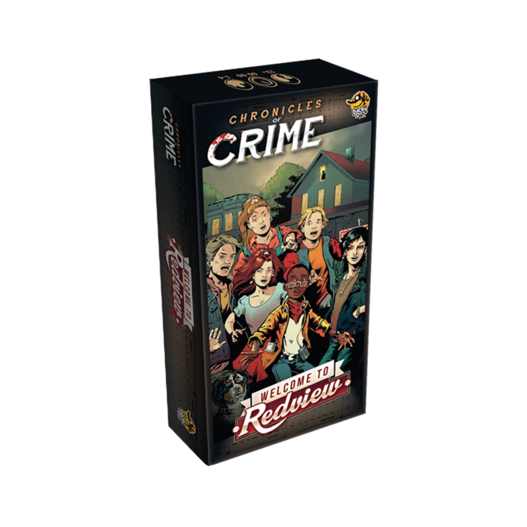 Lucky Duck Games Chronicles of Crime: Redview