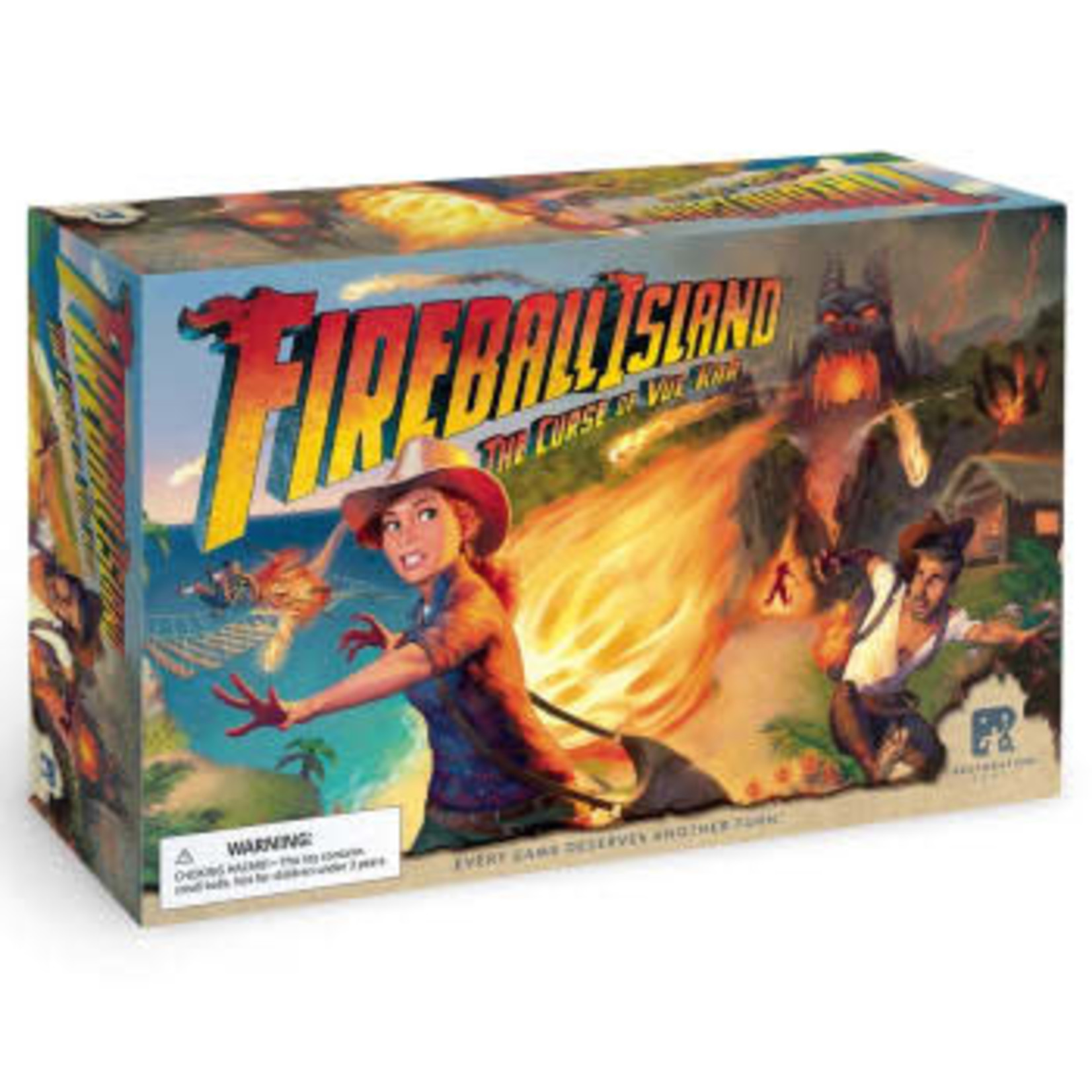 Restoration Games Fireball Island: Curse of Vul-Kar [BASE GAME]