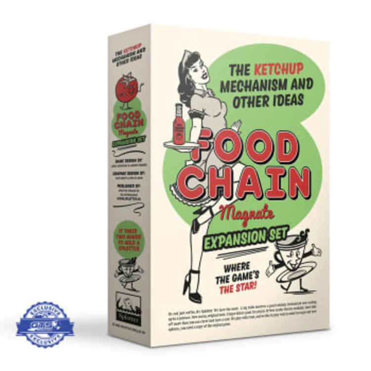 FOOD CHAIN MAGNATE: THE KETCHUP MECHANISM EXPANSION