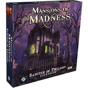 Fantasy Flight Games Mansions of Madness 2nd Ed: Sanctum of Twilight Expansion