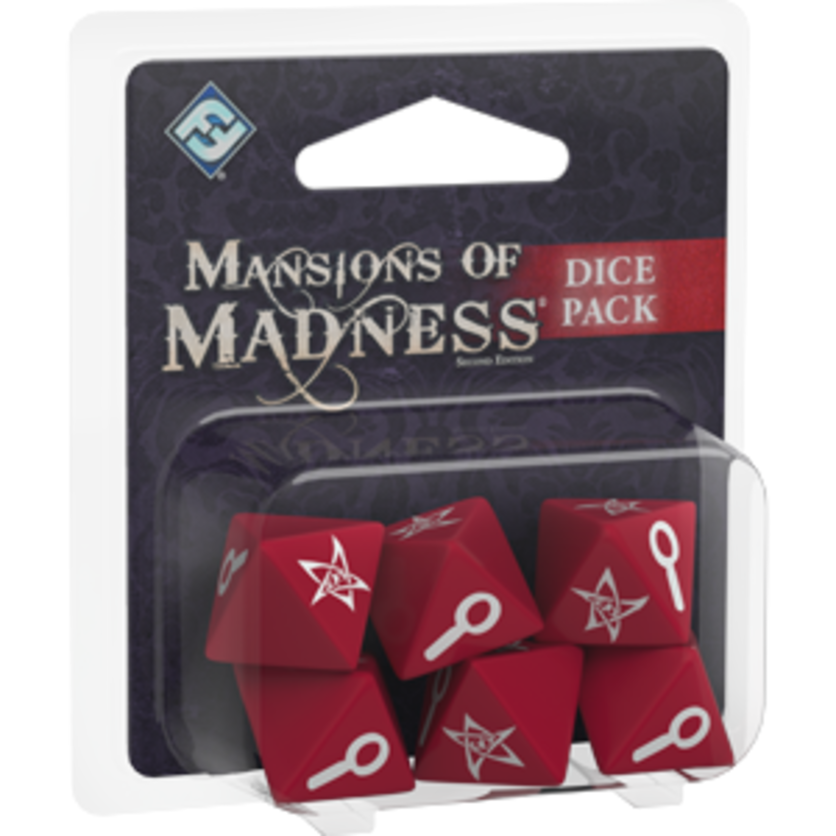 Fantasy Flight Games Mansions of Madness 2nd Edition: Dice Pack