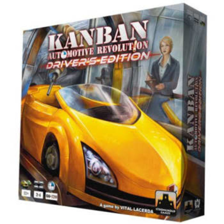 PSI Kanban: Automotive Revolution - Driver's Edition