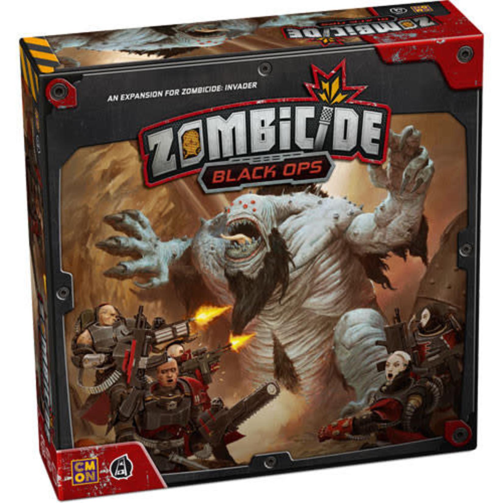 CMON Zombicide Invader: Black Ops (Kickstarter edition)
