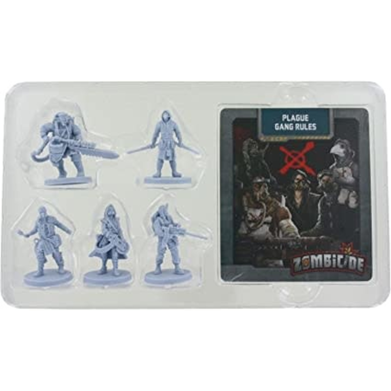 CMON Zombicide Invader: Plague Survivor (Kickstarter edition)