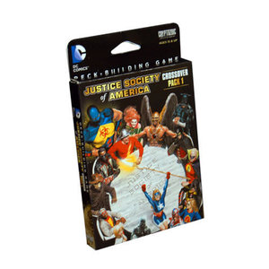 Cryptozoic DC Comics Deckbuilding Game: Crossover Pack 1 - Justice Society of America