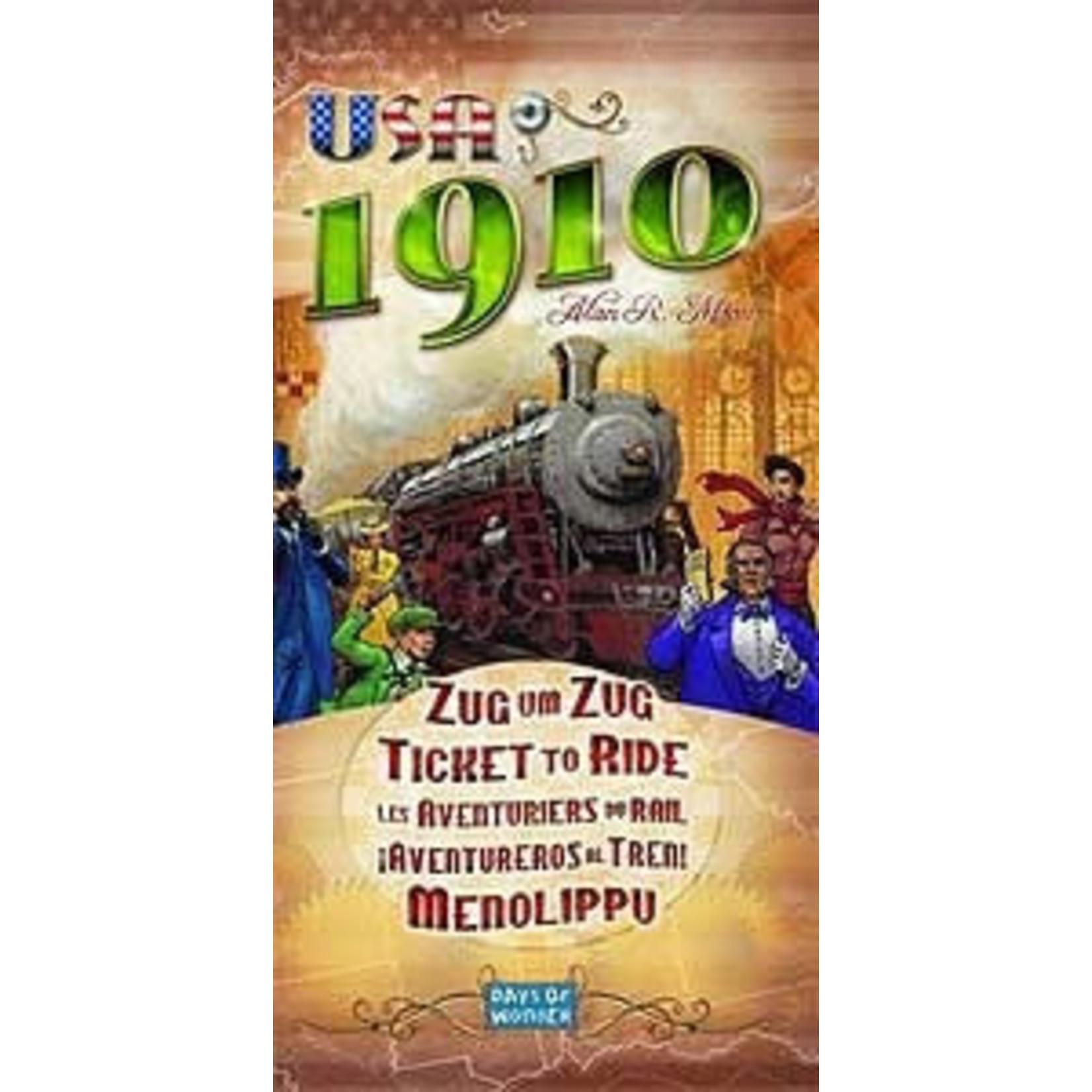 Days of Wonder Ticket to Ride USA 1910 Expansion
