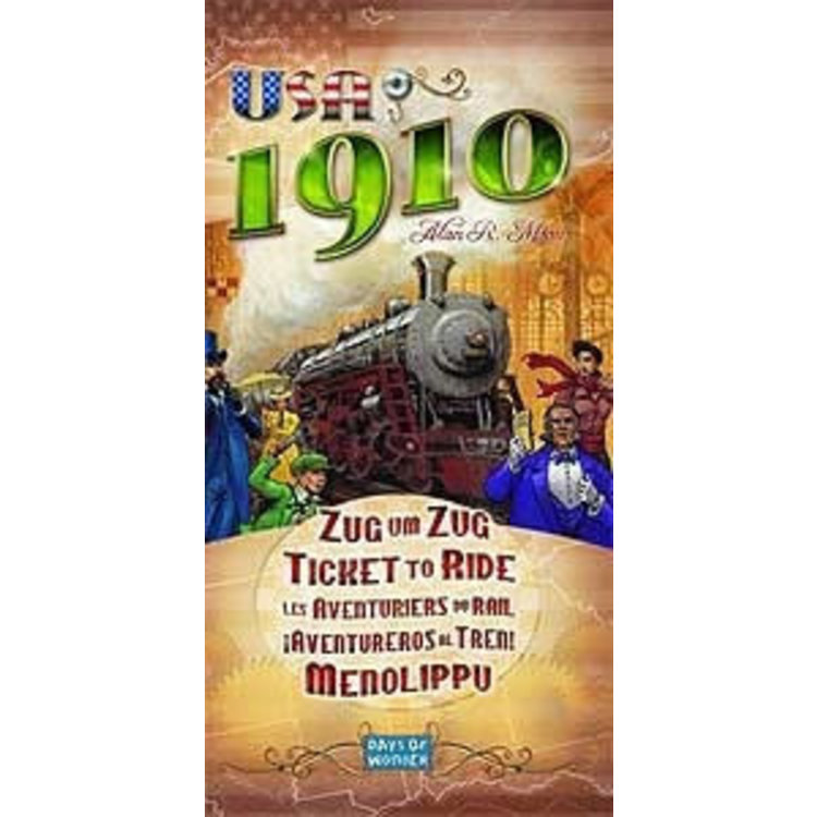 Days of Wonder Ticket to Ride USA 1910 Expansion