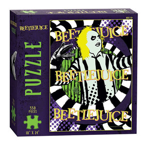 USAoploy The OP - 550 Piece Puzzle: Beetlejuice Ghost with the Most