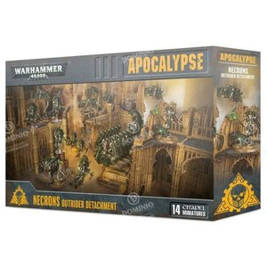 Games Workshop Warhammer 40k Apocalypse: Necrons - Outrider Detachment