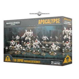 Games Workshop Warhammer 40k Apocalypse: T'au Empire: Vanguard Detachment
