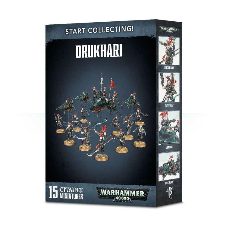 Games Workshop Warhammer 40k: Start Collecting! Drukhari (2018)