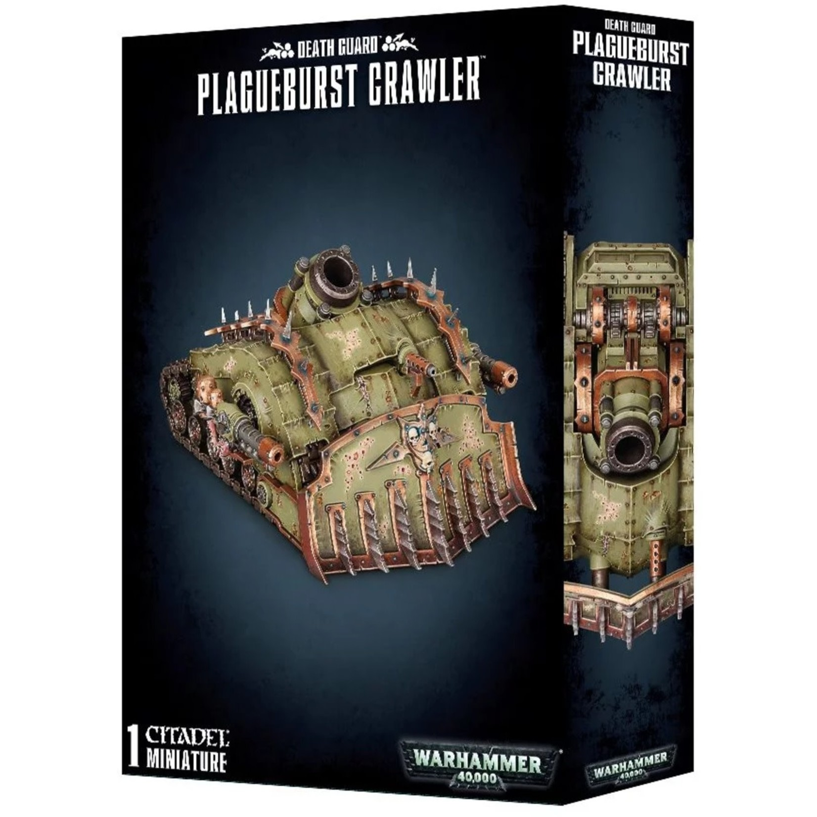 Games Workshop Warhammer 40k: Death Guard: Plagueburst Crawler