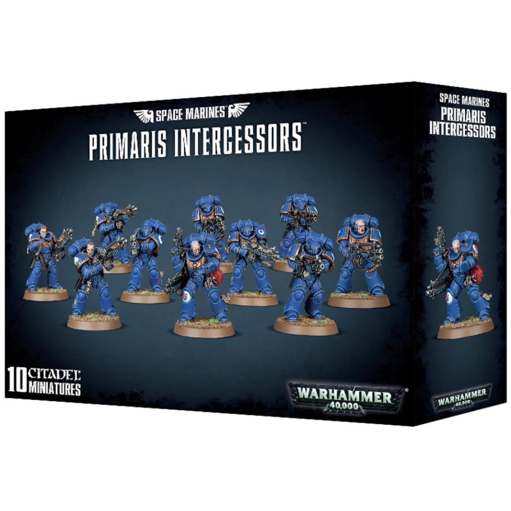Games Workshop Warhammer 40k: Space Marines - Primaris Intercessors