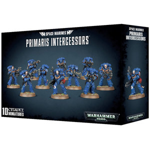 Games Workshop Warhammer 40k: Space Marines: Primaris Intercessors