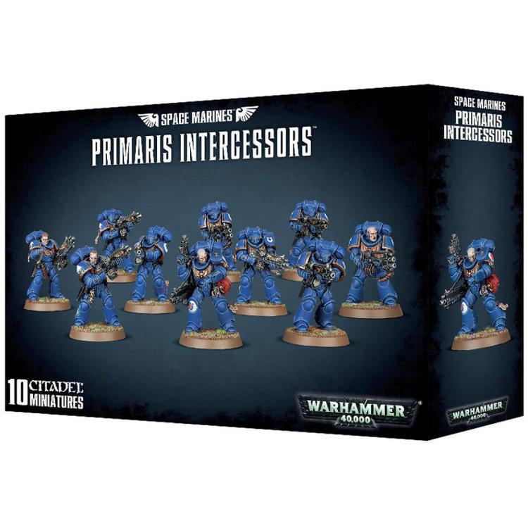 Games Workshop Warhammer 40k: Space Marines: Primaris Intercessors