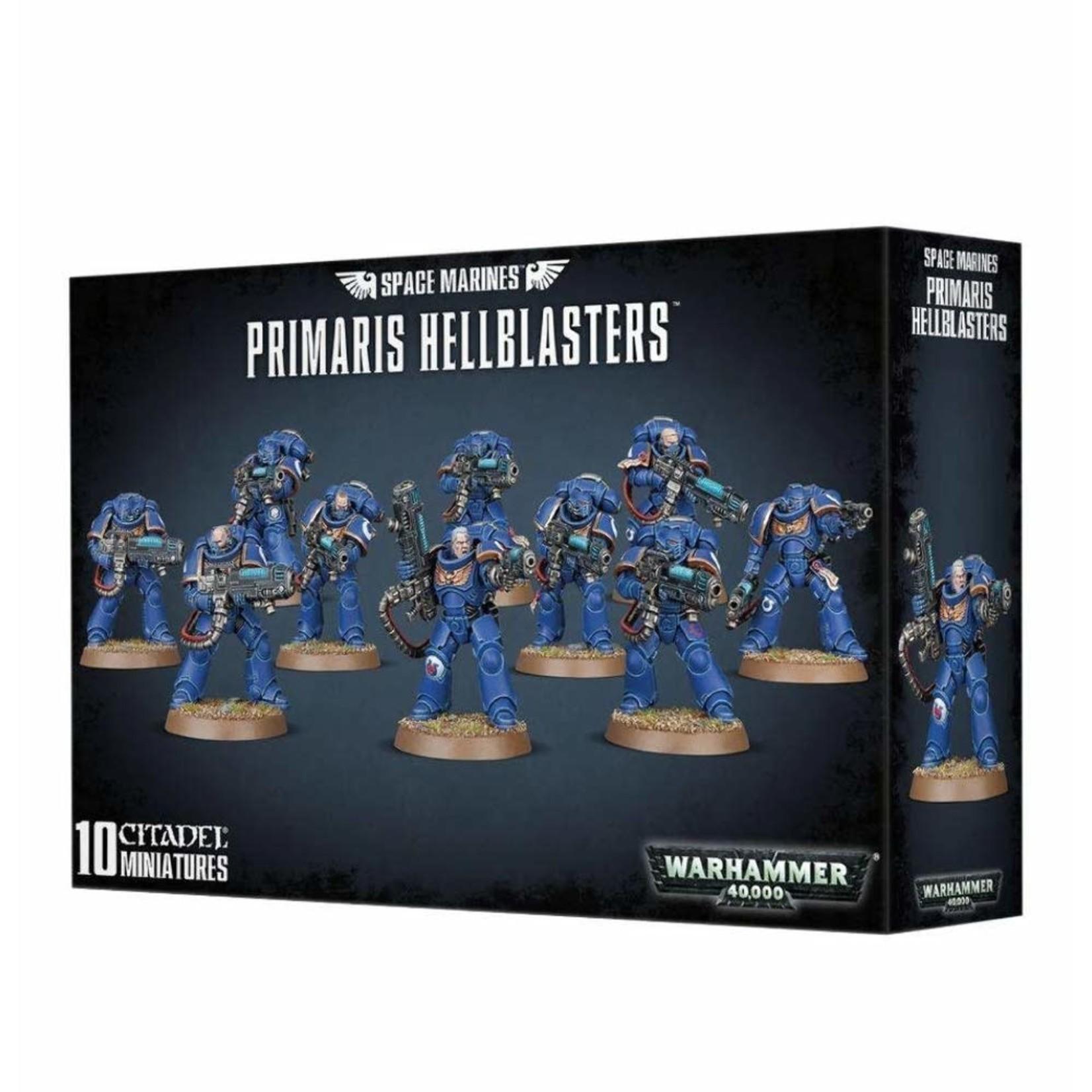 Games Workshop Warhammer 40k: Space Marines - Primaris Hellblasters
