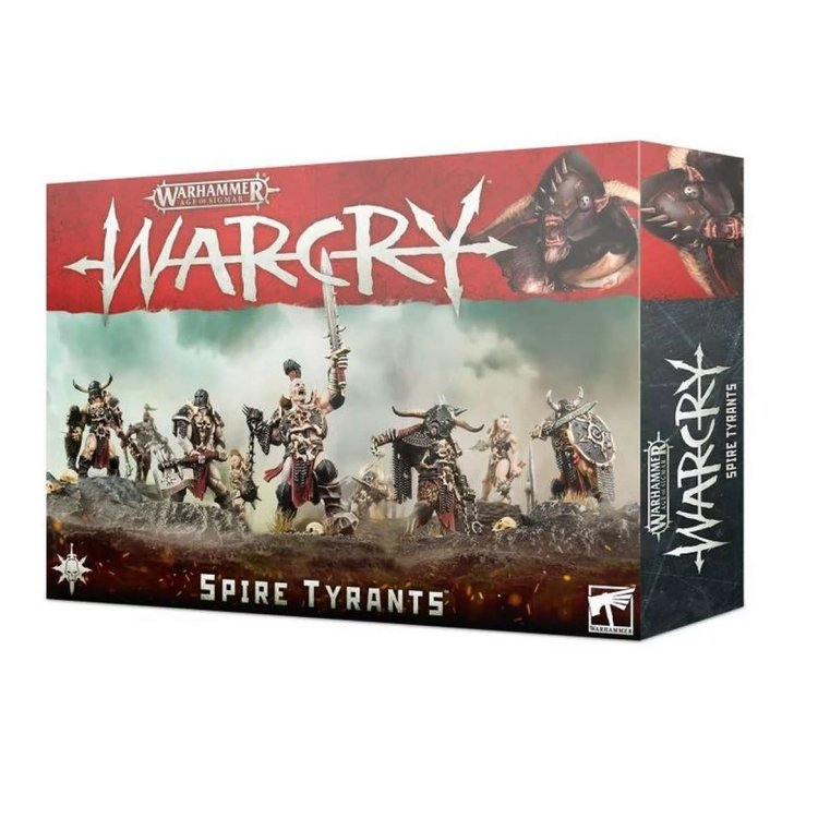 Games Workshop Warhammer Age of Sigmar: Warcry: Spire Tyrants