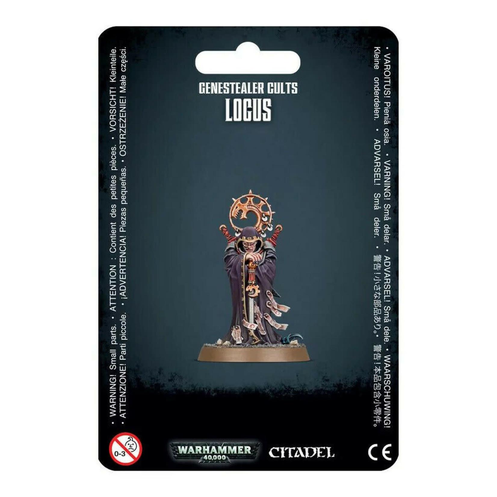 Games Workshop Warhammer 40k: Genestealer Cults - Locus