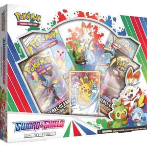 Pokemon International Pokemon Trading Card Game: Sword & Shield Figure Collection
