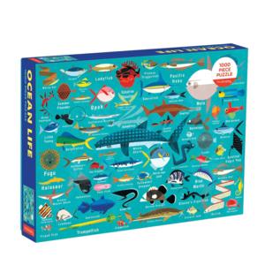 Mudpuppy Mudpuppy - 1000 Piece Puzzle: Ocean Life