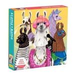Mudpuppy Mudpuppy - 500 Piece Puzzle: Llama Rama