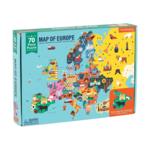 Mudpuppy Mudpuppy - 70 Piece Puzzle: Map of Europe