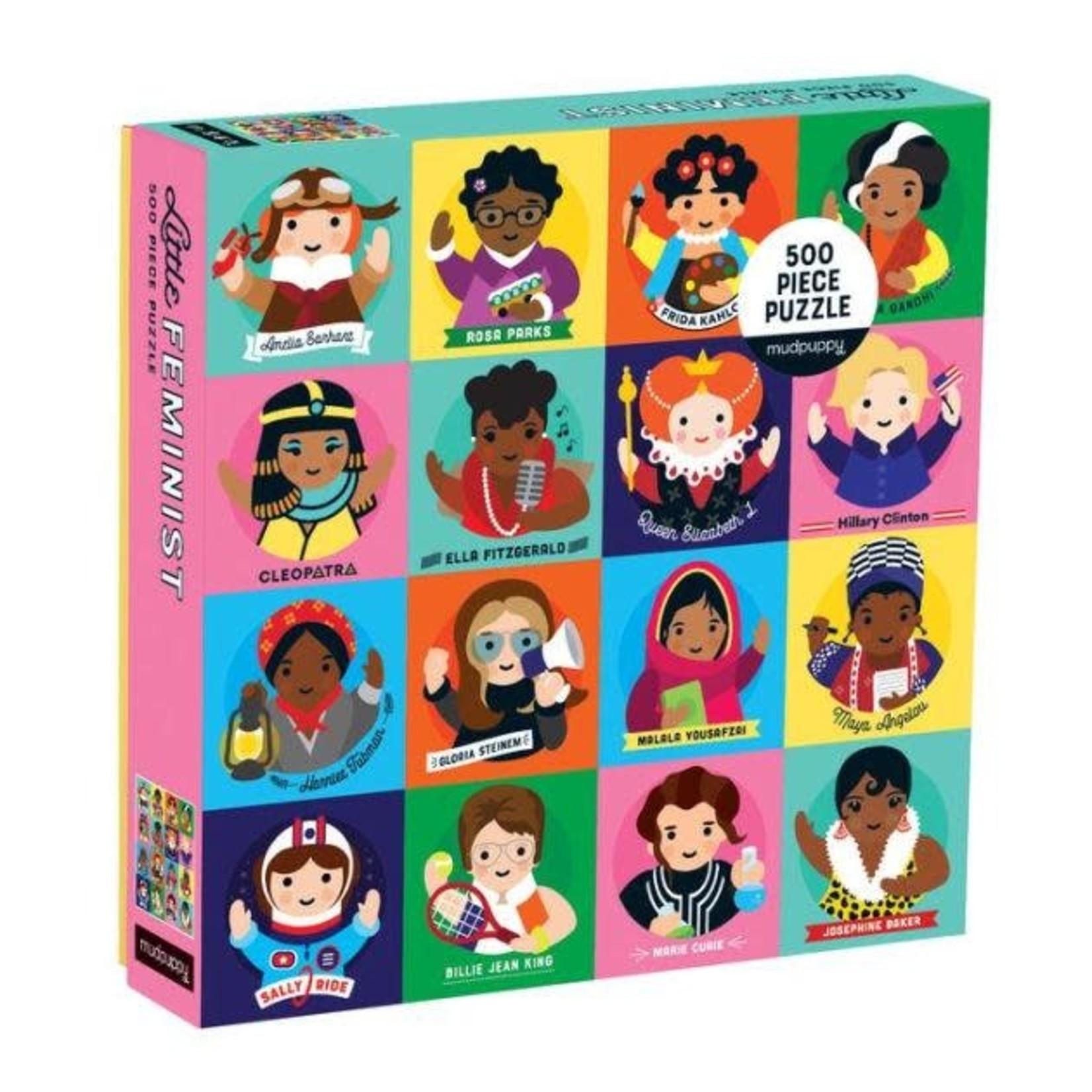 Mudpuppy Mudpuppy - 500 Piece Puzzle: Little Feminist