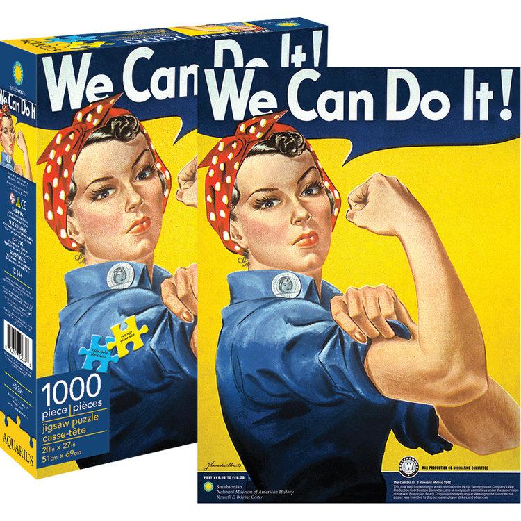 Aquarius Aquarius Puzzle: Rosie the Riveter - 1000pc Puzzle
