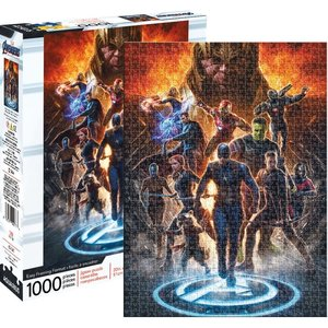 Aquarius Aquarius Puzzle: Avengers Endgame Collage - 1000pc Puzzle