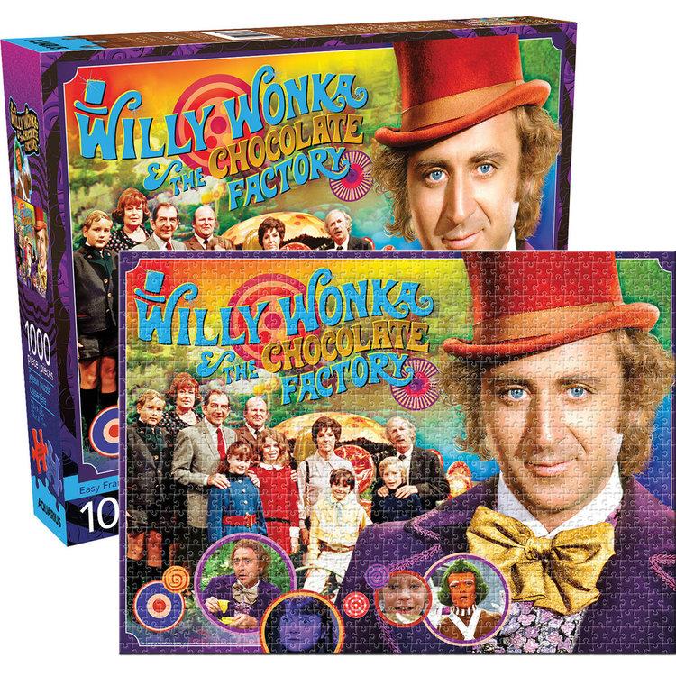Aquarius Aquarius Puzzle: Willy Wonka - 1000pc Puzzle