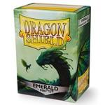 Arcane Tinman Dragon Shield: Card Sleeves - Matte Emerald (100)