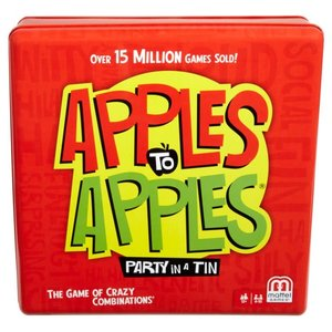 Mattel Apples To Apples Tin