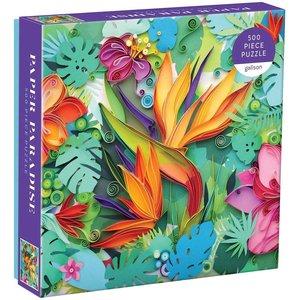 Mudpuppy Mudpuppy - 500 Piece Puzzle: Paper Paradise