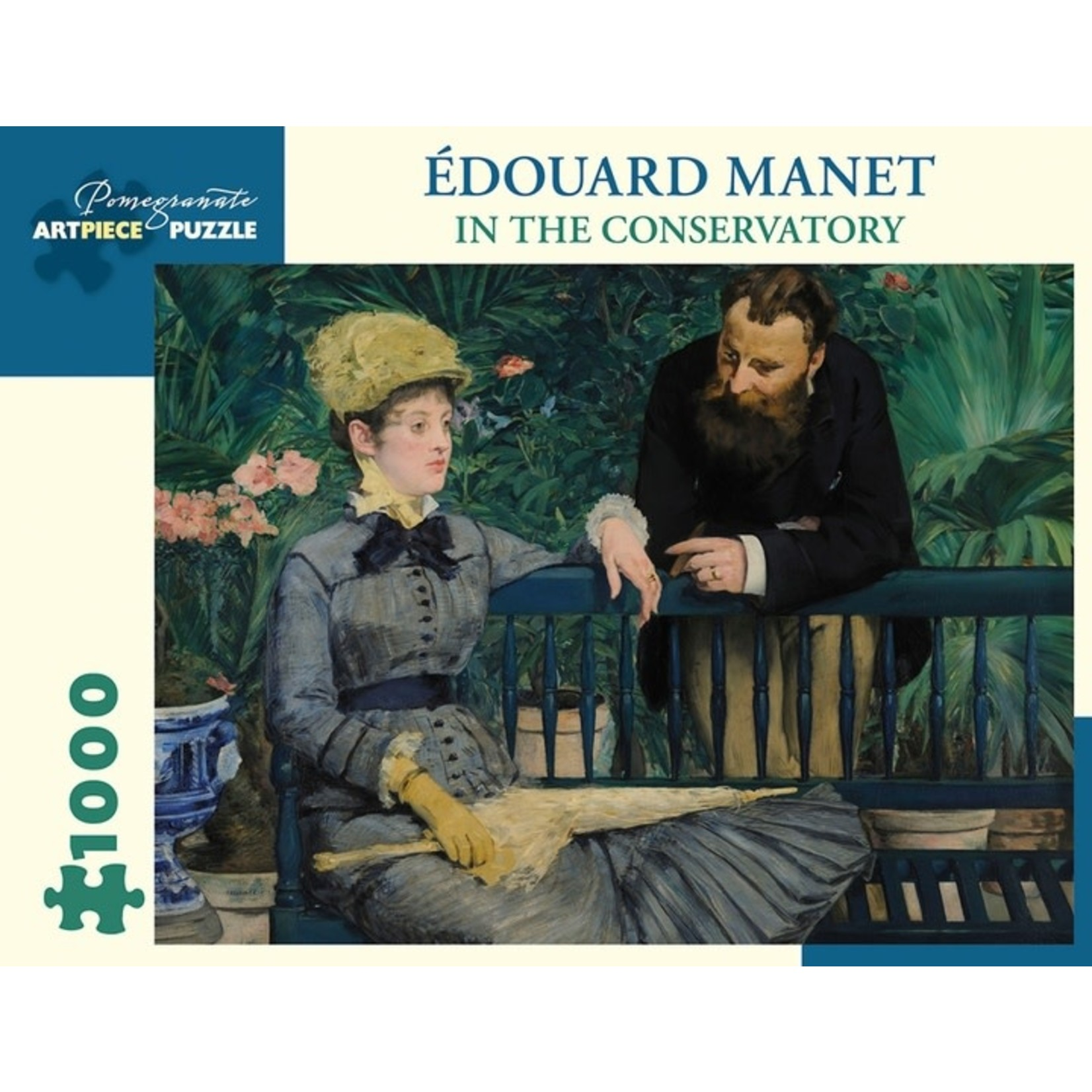 Pomegranate Pomegranate - 1000 Piece Puzzle: Manet In The Conservatory