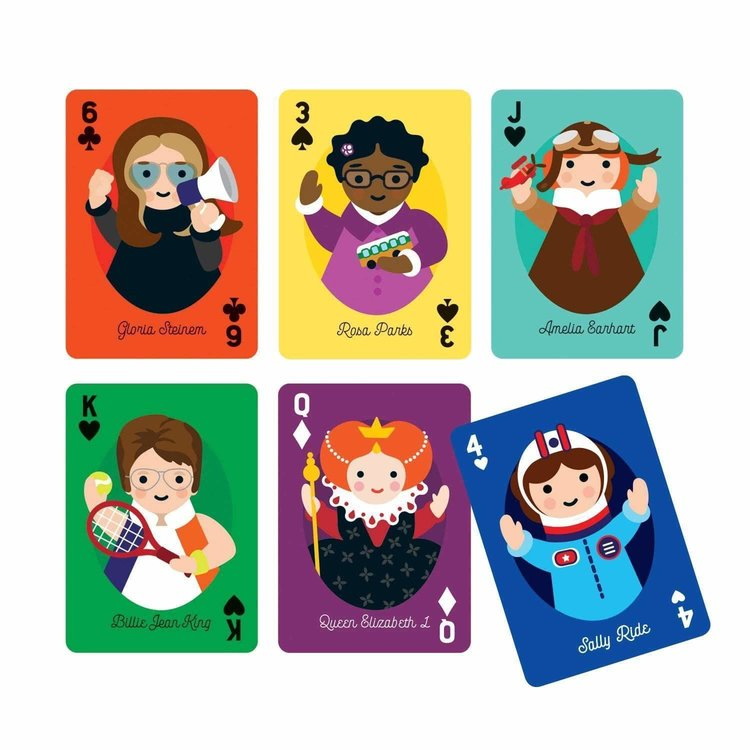 Chronicle Books Little Feminist Playing Cards