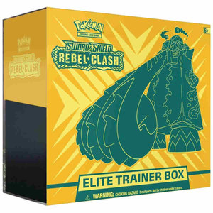 Pokemon International Pokemon Trading Card Game: Sword & Shield Rebel Clash Elite Trainer Box
