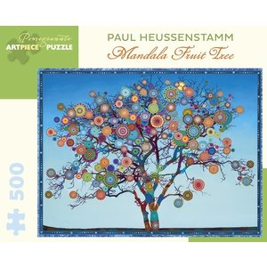 Pomegranate Pomegranate - 500 Piece Puzzle: Heussenstamm Mandala Fruit Tree