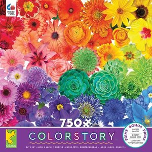 ceaco Ceaco - 750 Piece Puzzle: Color Story - Flower Power