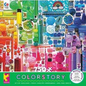 ceaco Ceaco - 750 Piece Puzzle: Color Story - Rainbow