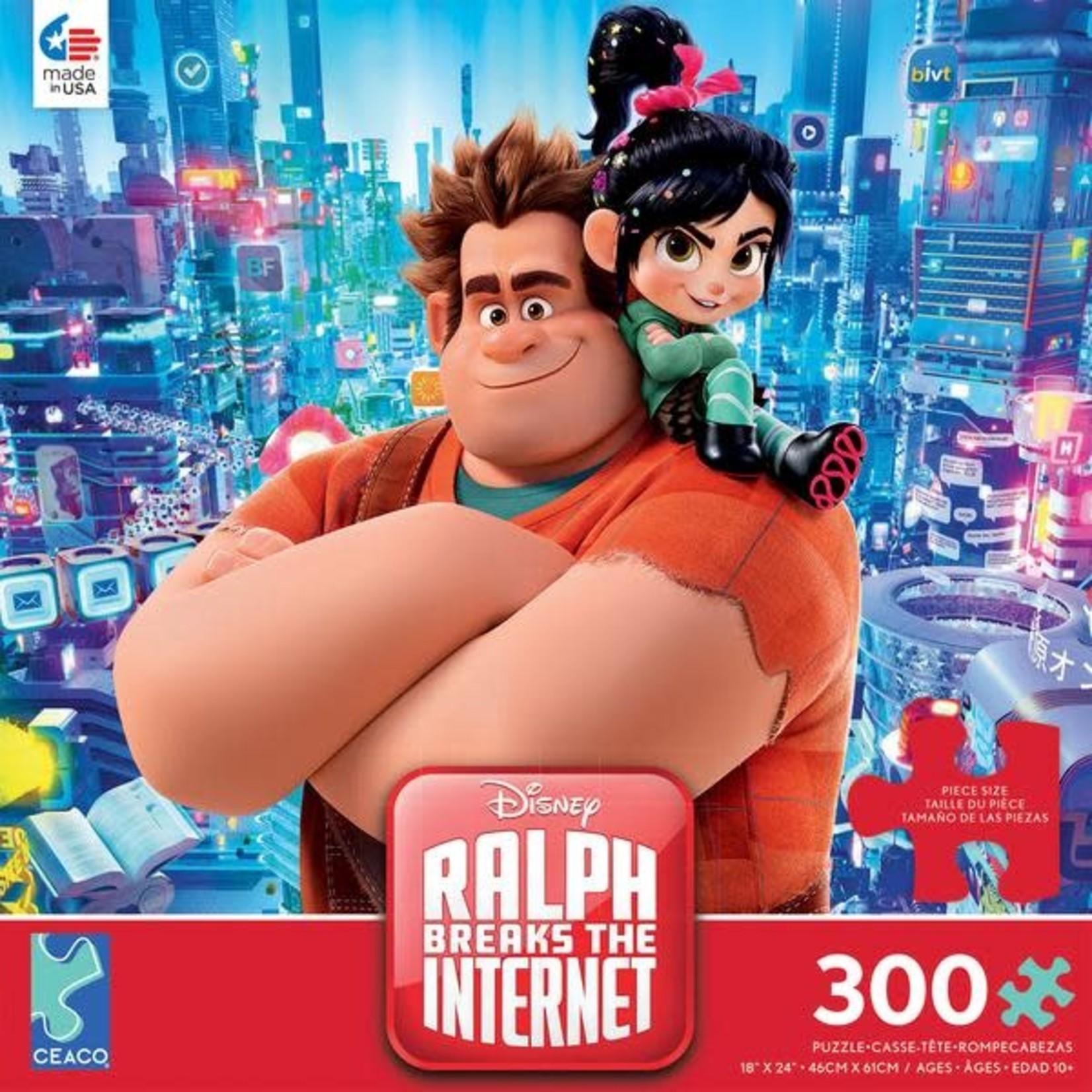 ceaco Ceaco - 300 Piece Puzzle: Disney Collection - Ralph Breaks The Internet