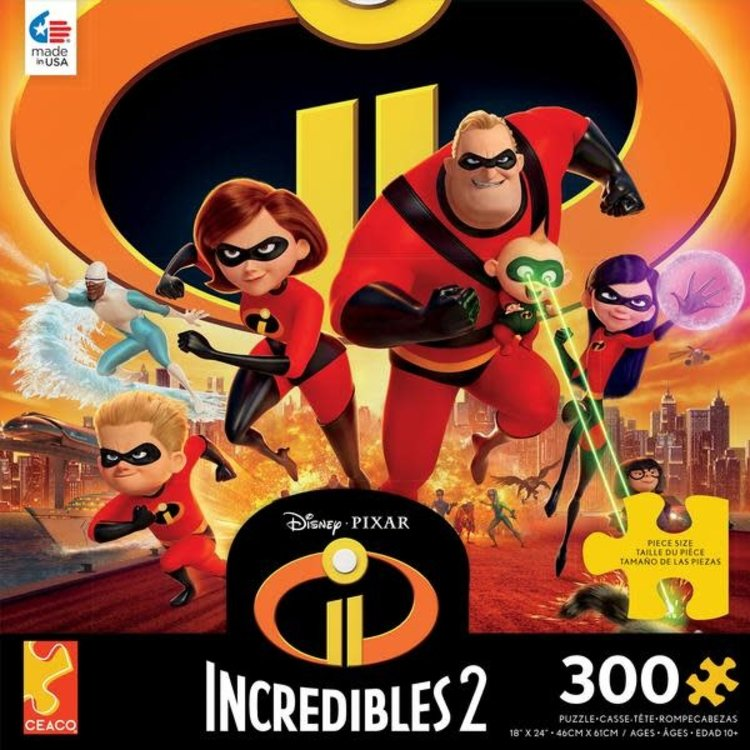 ceaco Ceaco - 300 Piece Puzzle: Disney Collection - Incredibles 2