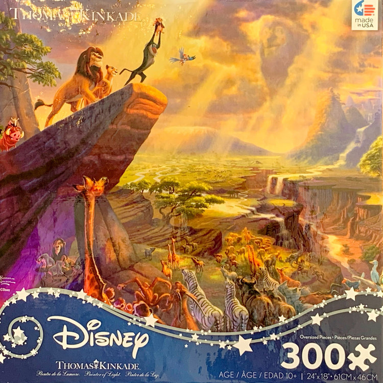 ceaco Ceaco - 300 Piece Puzzle (Oversized Pieces): Disney Collection - The Lion King