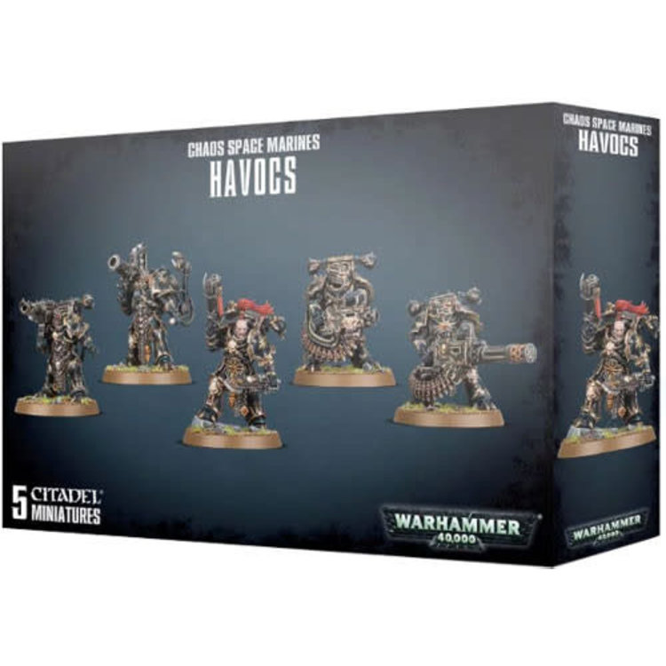 Games Workshop Warhammer 40k: Chaos Space Marines - Havocs