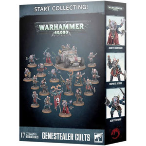 Games Workshop Warhammer 40k: Start Collecting!  Genestealer Cults