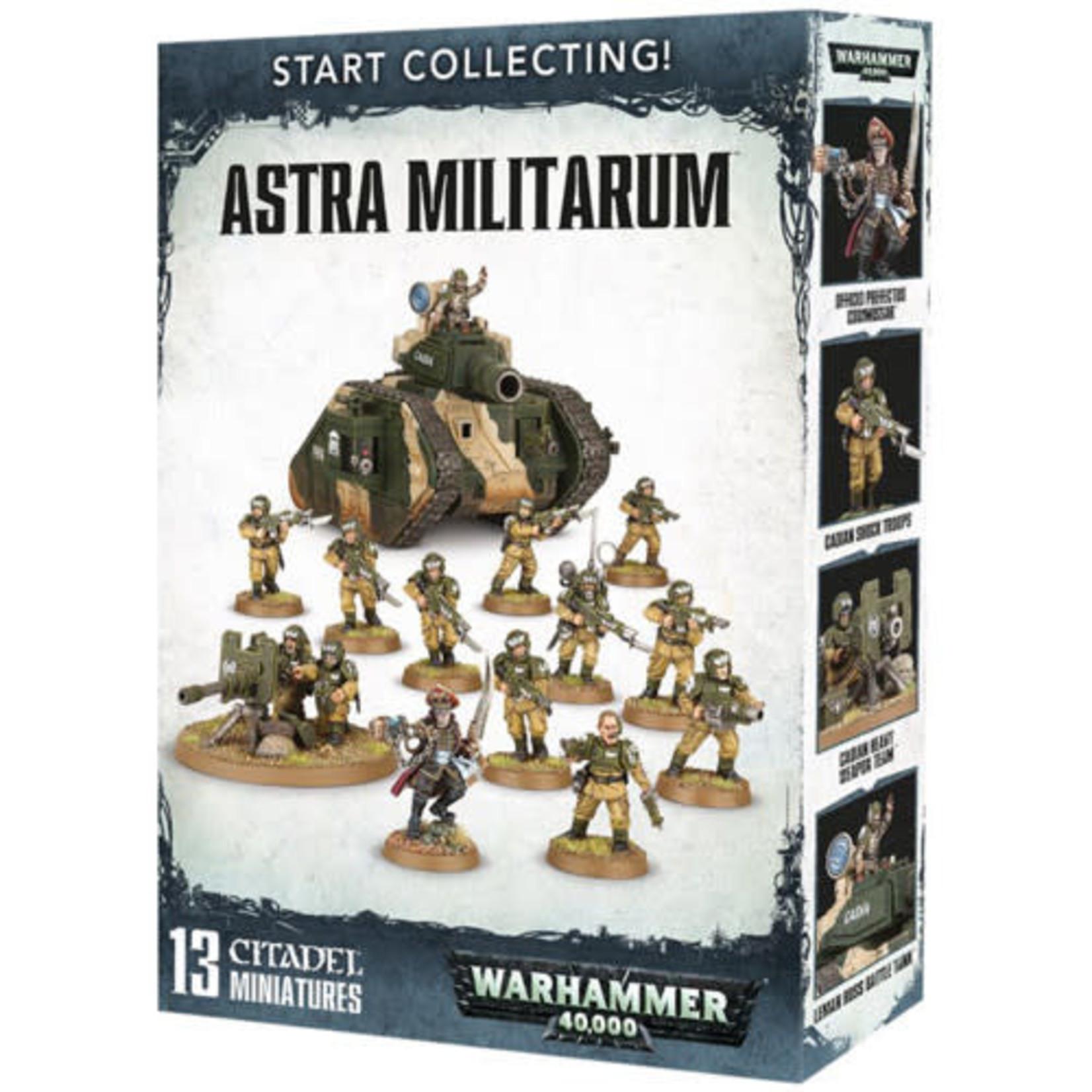 Games Workshop Warhammer 40k: Start Collecting!  Astra Militarum