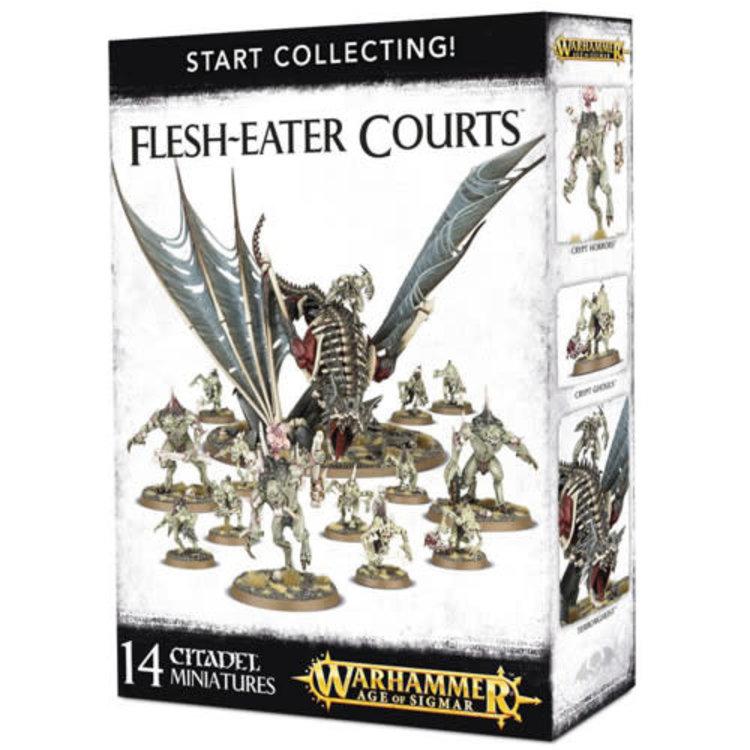 Games Workshop Warhammer 40k: Start Collecting! Flesh-Eater Courts
