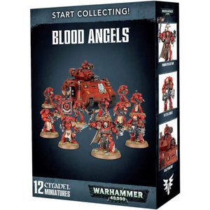 Games Workshop Warhammer 40k: Start Collecting! Blood Angels