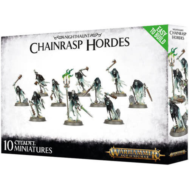 Games Workshop Warhammer AoS: Chainrasp Hordes (Easy-to-Build)